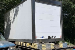 The truck will have a refrigerated box on the back to transport food to local food hubs, food banks, and restaurants.