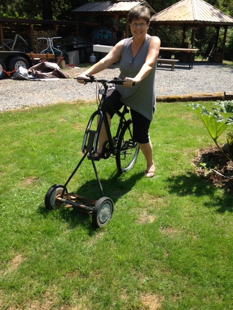 "Pilchuck ""Green"" Riding Lawnmower"
