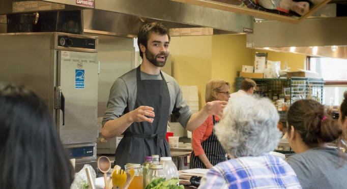 Pacific NW Cooking Class