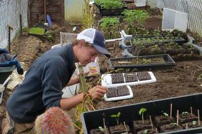 Hawthorn Farms staff plans for soil health.