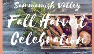 SVA Fall Harvest Celebration flyer